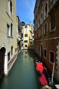 Mit dem Kajak durch Venedig
